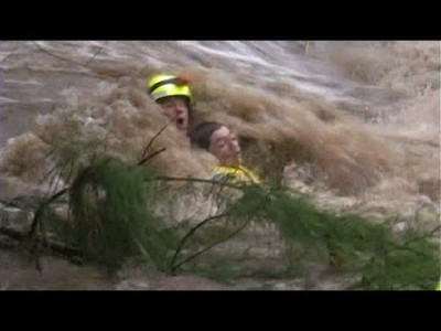 Teen rescued from Rockhampton Floodwaters