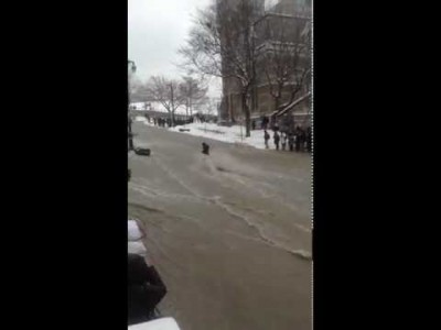 Student Swept away by Flooding at McGill University