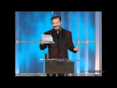 Ricky Gervais – Golden Globes Opening Monologue 2012