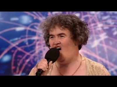 47 Year Old Susan Boyle Proves it's Never Too Late to Succeed !