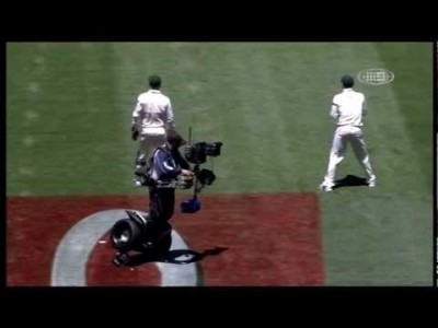 Cameraman on Segway Crashes During the India vs Australia Test Match!