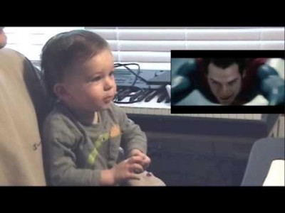 Man of Steel from a Baby's Perspective