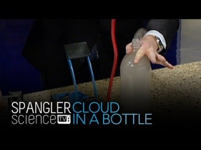 How to Make a Cloud in a Bottle – Cool Science Experiment