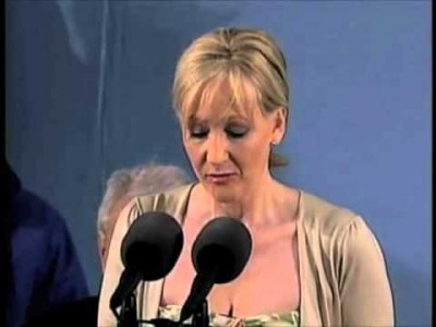 JK Rowling, author of the Harry Potter series,  talks about her Failures