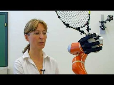 Ultra-fast, the Robotic Arm catches Objects on the Fly