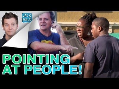 Pointing at People Prank