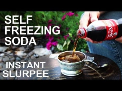 Self Freezing Coca-Cola