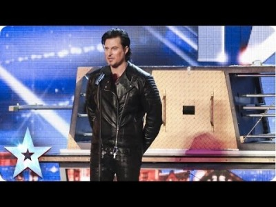 Illusionist Christian Farla wows the Crowd | Britain's Got Talent 2014