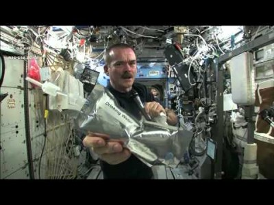 Wringing out Water on the International Space Station