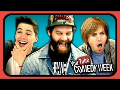 YouTubers React to Try to Watch this Without Laughing or Grinning