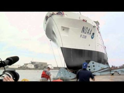 Christening and Launch of the NOAA Ship Reuben Lasker – June 16th, 2012