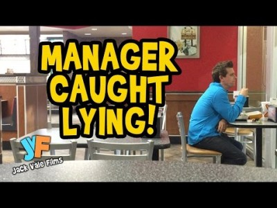 Manager caught lying about finding Money
