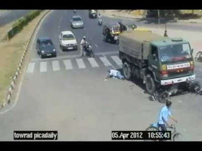 Rampage on the roads of Chandigarh, India