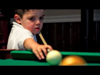 Keith O'Dell Jr. 5 Year old Pool Prodigy