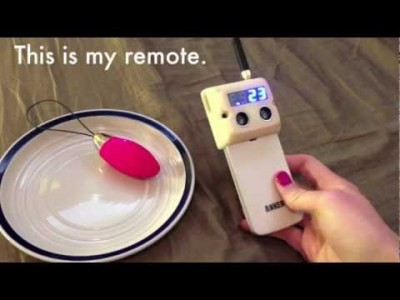 Open Source hands-free Vibrator Remote