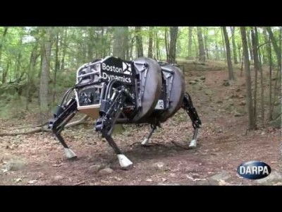 DARPA Legged Squad Support System Demonstrates New Capabilities