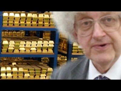Inside the Gold Vault of the Bank of England