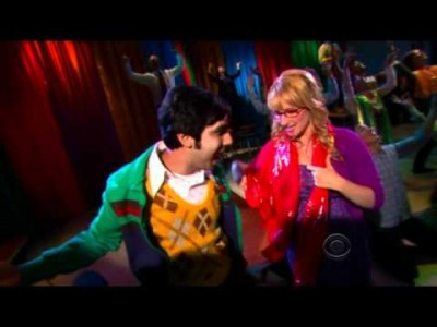 Bollywood Dance in the Popular Sitcom 'The Big Bang Theory' !