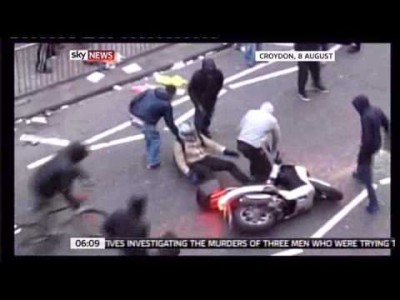 Motorcycle Jacked During the London Riots!