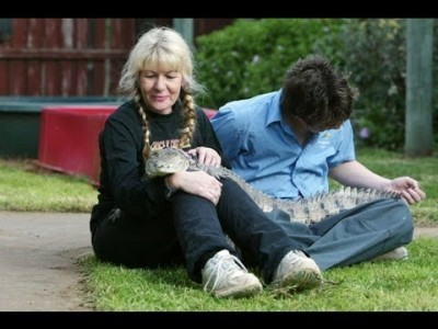 Can you Imagine having a Crocodile as a Pet?