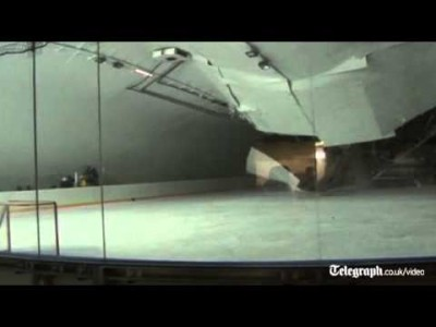 Roof Collapses on Ice Hockey Rink as Players Train