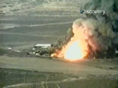 Chemical Plant Explosion generates a massive Shockwave