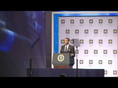 Obama Blasts GOP Candidates on Booing of Gay Soldier!