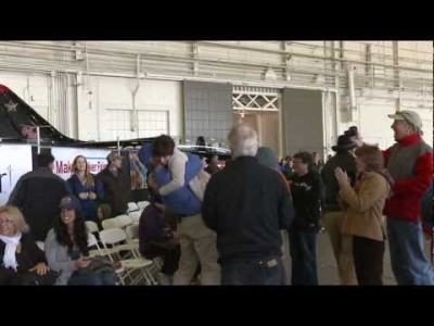 Paper Airplane breaks World Record