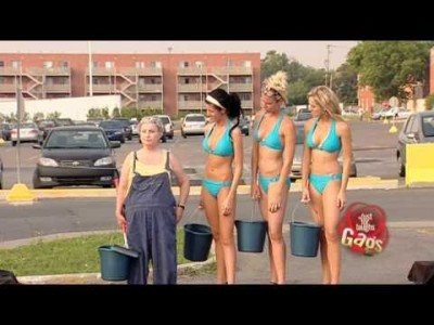 Bikini Car Wash – Prank!