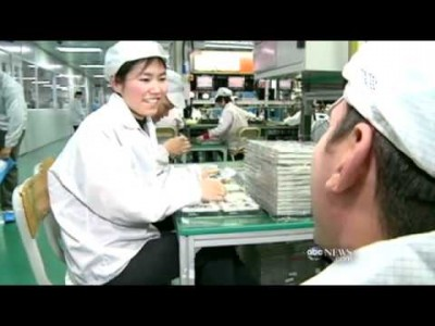 An Insight into the FoxConn Factory in China
