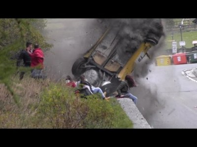 Jolly Rally Valle d'Aosta 2014 – Big Crash