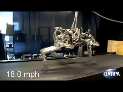 DARPA's Fast Ass Cheetah Robot Bolts Past the Competition