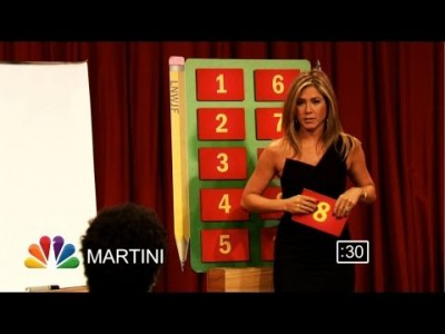 Pictionary with Jennifer Aniston, Lenny Kravitz and CeeLo Green – Part 1