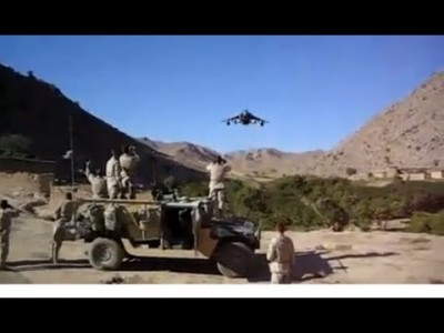 INSANE! Low Flying Jet in Afghanistan