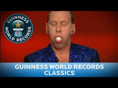 Most Boiled Eggs Swallowed and Regurgitated – Guinness World Records Classics