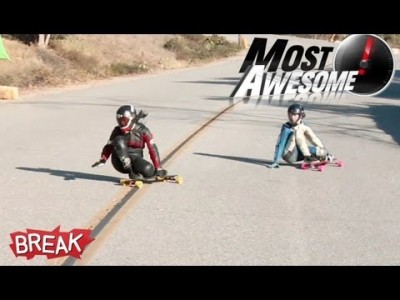 Most Awesome Longboarding Fails