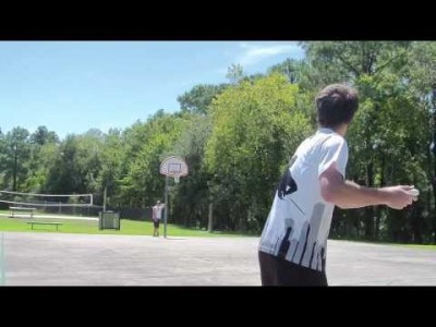 Frisbee Trick Shot – Lefty Backhand – Brodie Smith