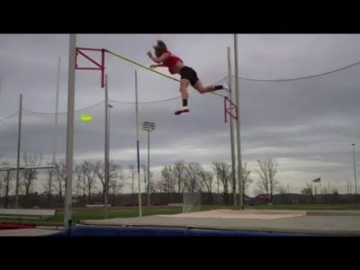 Epic Pole Vault Frisbee Catch – Brodie Smith