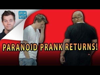 Paranoid Prank Returns!