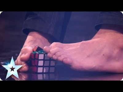 Sweden's Got Talent winner is a Rubik's Cube Wonder