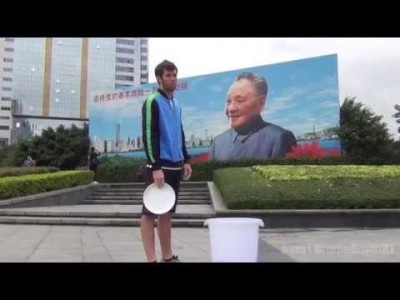 China Frisbee Trick Shots – Brodie Smith