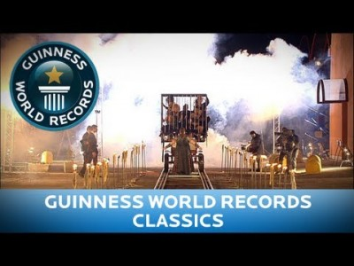 Heaviest Vehicle pulled by Nipples – Guinness World Records Classics