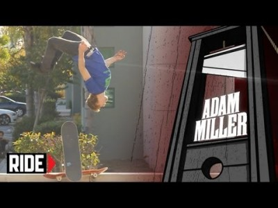 Skateboarding Backflip Slams