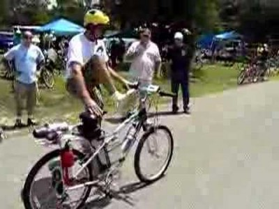 Jet Powered Bicycle
