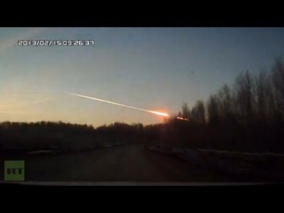 Video of Meteorite Explosion in Russia that Stirred Panic in Urals Region
