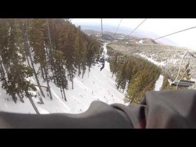 Kid falls off a Chairlift at a height of 45+ Feet