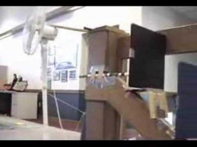 Rube Goldberg Officeplace Contraption