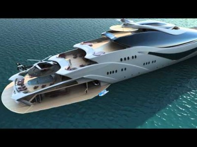 Luxurious Yacht – Project Magnitude by Opalinski Designs