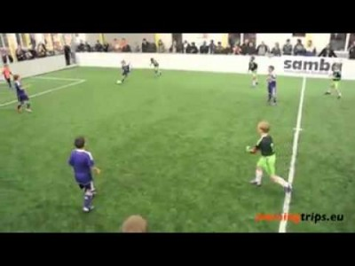 Amazing Goal by an 8 Year Old Boy