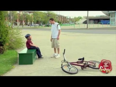 Boy With Hands For Feet Prank